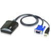 ATEN Laptop USB Console Adapter CV211