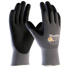 ATG Maxi Flex Plus tenyéren mártott precíziós védő/szerelő kesztyű Méret: 10 Tartós