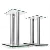Auna Hangfal állványpár, üveg és alumínium, teherbírás <10 kg