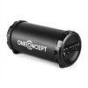 Auna oneConcept Dr. Beat 2.1 bluetooth hangfal, USB, SD, AUX, FM, akkumulátor, fekete
