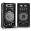 "Auna PA-1200, max. 1000 W, dupla készlet fullrange PA hangfal, 12"", basszus hangszóró"