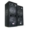 Auna Pár Auna PW-2222 PA DJ háromutas hangszóró 2 x 30cm 1000W