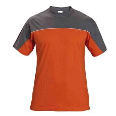 AUST DESMAN trikó szürke/narancssárga L