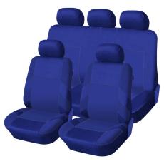 Autófejlesztés Univerzális üléshuzat garnitúra kék-kék (osztható) Exlusive