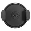 Autós tartó, univerzális, 55 - 105 mm széles készülékekhez, vezeték nélküli töltővel, szellőzőrácsba illeszthető, fekete