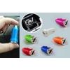 autóstöltő USB kimenetre - rózsaszín - 1A