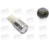 AVC LED 12V 5W T10 helyére fehér lencsés
