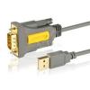 AXAGON ADS-1PQ USB 2.0 - soros RS-232 DB9 HQ aktív adapter (ADS-1PQ)