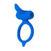 B SWISH Bcharmed - vibráló péniszgyűrű (kék)