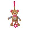 BABY MIX Gyerek plüss zenélős játék Baby Mix mackó rózsaszín | Rózsaszín |