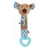 BABY MIX Sípolós plüss játék rágókával Baby Mix egérke kék | Kék |