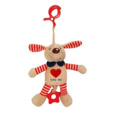 BABY MIX Vibrálós gyerek plüss játék Baby Mix kutyus piros | Piros | plüssfigura