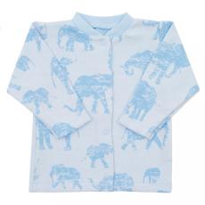 BABY SERVICE Baba kabátka Baby Service Elefánt kék