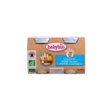 Babybio Babybio Bio tejszínes körtés-almás püré 2 * 130 g bébiétel