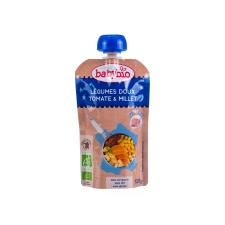 Babybio Babybio Jó éjszakát! - Bio zöldséges-paradicsomos finomság kölessel 120 g bébiétel