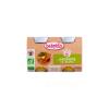 Babybio Bio kerti zöldséges ínyencség 2 * 130 g