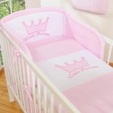 BabyLion BabyLion Prémium 3 részes ágyneműszett - Little Princess - Rózsaszín lakástextília