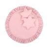BabyLion BabyLion Prémium Textil játszószőnyeg - párnákkal - Rózsaszín