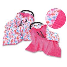 BabyLion BabyLion Prémium univerzális kétoldalas takaró - Pink - Flamingó lakástextília