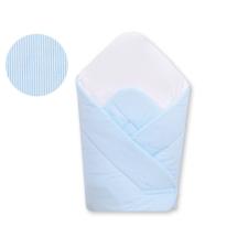 BabyLion Prémium merevített pólya - Kék csíkos pólya