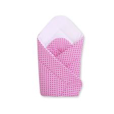 BabyLion Prémium pólya - Rózsaszín - Fehér pólya