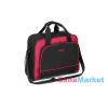 Babyono pelenkázó táska fekete/piros 1421/01