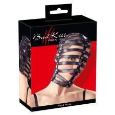 Bad Kitty - rácsos fejmaszk (fekete) bilincs, kötöző