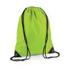 Bag Base Tornazsák tornatáska Hátizsák Bag Base Premium Gymsac - Egy méret, Lime zöld