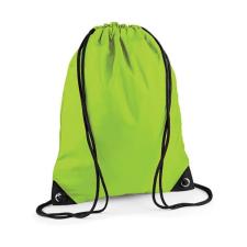 Bag Base Tornazsák tornatáska Hátizsák Bag Base Premium Gymsac - Egy méret, Lime zöld tornazsák