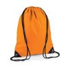 Bag Base Tornazsák tornatáska Hátizsák Bag Base Premium Gymsac - Egy méret, Narancssárga