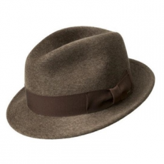 Bailey of Hollywood Riff Fedora Barna - L (22721Q2)
