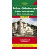 Balkán - Dél-kelet Európa autótérkép - f&b AK 2003