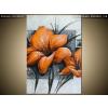 Balkys Trade Festett kép Gyönyörű narancsárga pipacsok 70x100cm RM2454A_1AB
