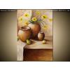 Balkys Trade Festett kép Sárga virágok a vázában 70x100cm RM1777A_1AB