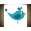 Balkys Trade Nyomtatott kép Kék madárka 3064A_1AI