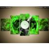 Balkys Trade Nyomtatott kép Vinil-lemez és zöld szín 150x70cm 1404A_5B