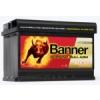 Banner Banner Running Bull 12V 70Ah autó akkumulátor AGM 570 01 jobb+