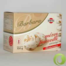 Barbara Gluténmentes Mézes Puszedli 150 g diabetikus termék