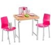Barbie bútorok és kiegészítők: étkező
