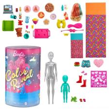 Barbie Color Reveal: Pizsiparty- Barbie és Chelsea babával barbie baba