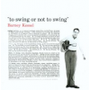 Barney Kessel - To Swing or Not to Swing (Cd)