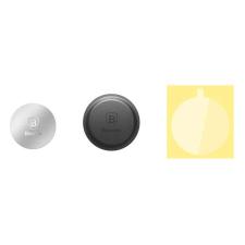 Baseus Magnet Iron Suit 2x Iron Plate Mágneses autós tartó ezüst mobiltelefon kellék