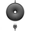 Baseus vezeték nélküli QI töltő donut formában Apple iPhone - fekete