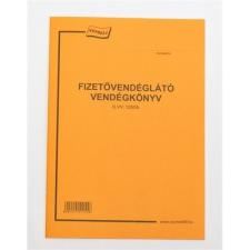 Basic FIZETŐVENDÉGKÖNYV nyomtatvány