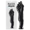 Basix Basix Fist of Fury - nagy ököl dildó (fekete)