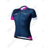 BBB Omnium BBW-244 rövid ujjú női kerékpáros mez, navy kék/magenta/fehér XL