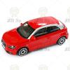 BBurago : Audi A1 piros kisautó 1/43