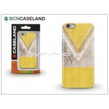 BCN Caseland Apple iPhone 6/6S hátlap - BCN Caseland V Neck - yellow tok és táska