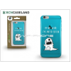 BCN Caseland Apple iPhone 6/6S szilikon hátlap - BCN Caseland Limited Edition - azul