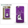 BCN Caseland Apple iPhone 6/6S szilikon hátlap - BCN Caseland Limited Edition - lila